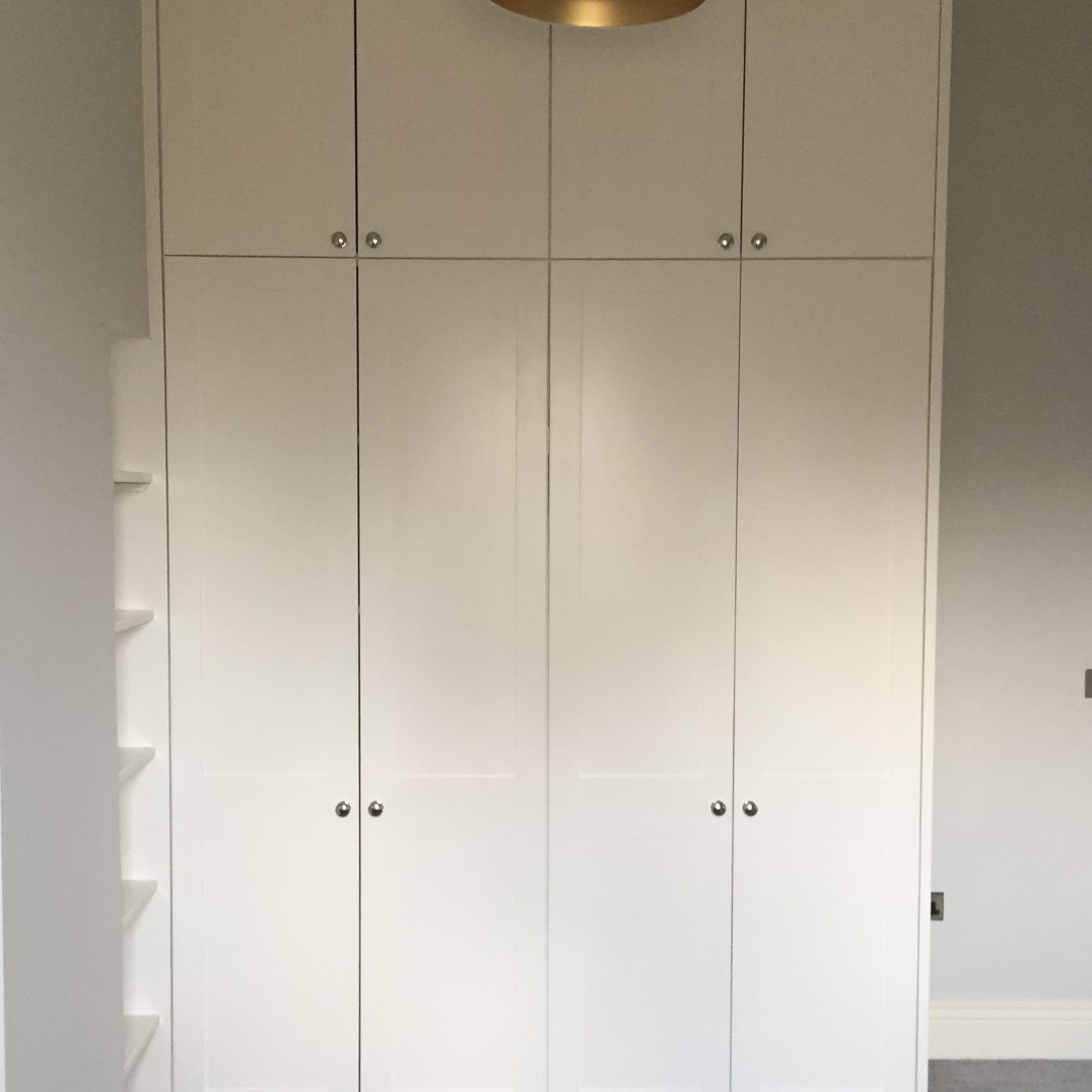 3.9 Metre High Fitted Wardrobe