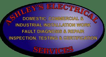 Ashleys Electrical Services logo