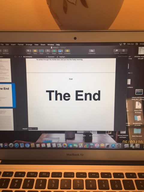 It is finished.