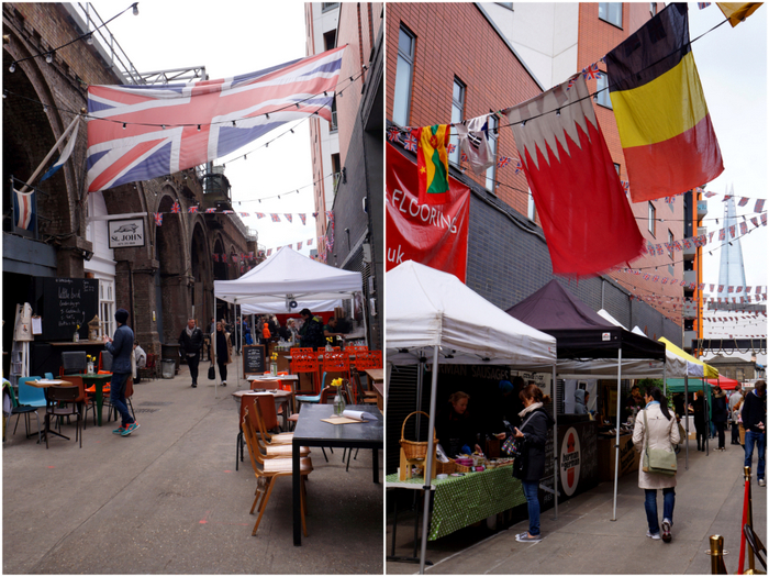 Maltby Street Market, London