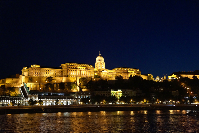 Budapest Castle Hill Night
