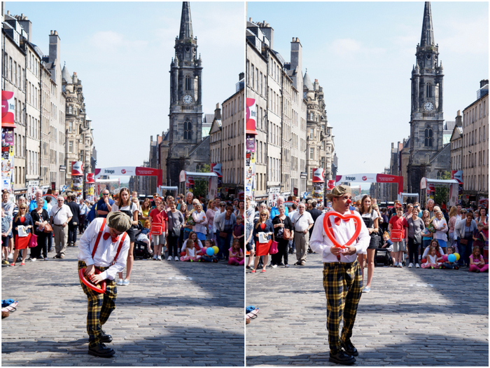 Edinburgh Fringe Festival Royal Mile 6