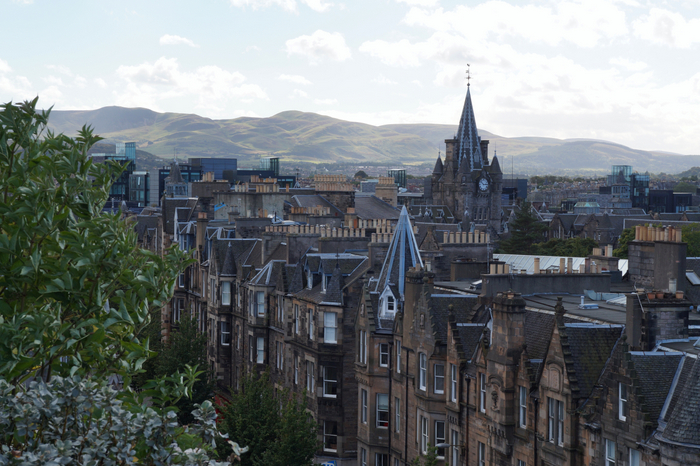 Edinburgh National Museum Rooftop