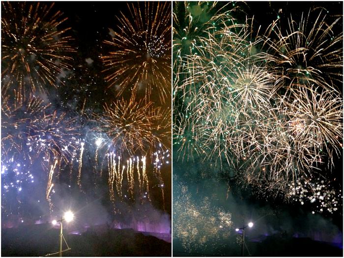 Edinburgh Hogmanay Fireworks
