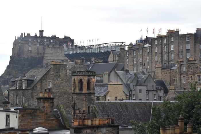 Edinburgh View The Outsider