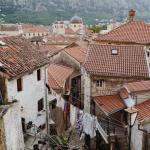 Kotor Old Town rooftops
