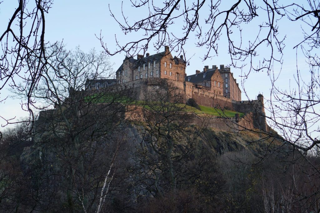 Winter Edinburgh Castle