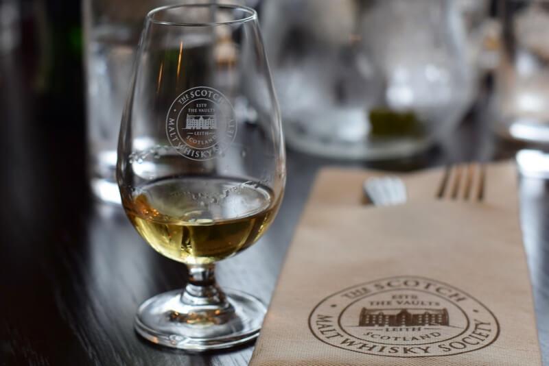 Scotch whisky Edinburgh