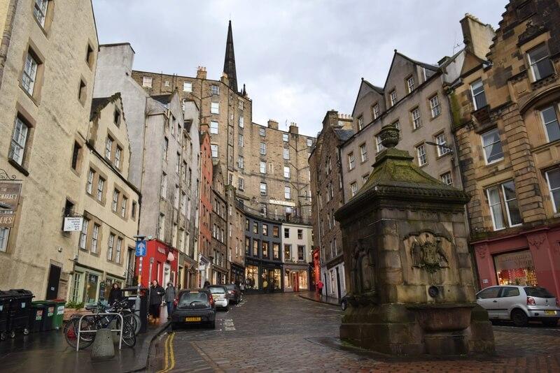 Edinburgh Old Town, Victoria Street