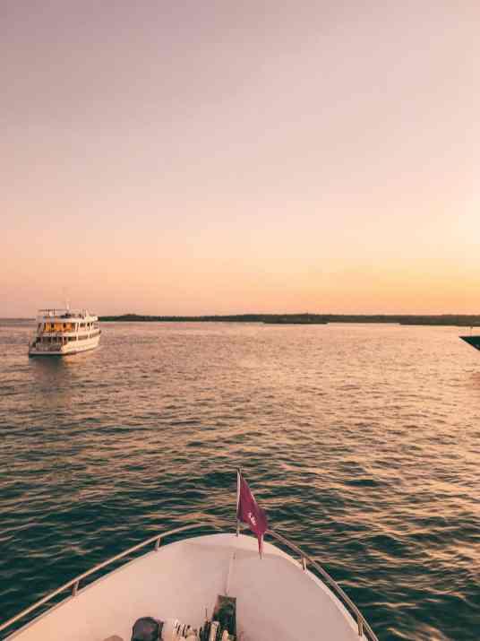 Galapagos Sunset from G Adventures Monserrat