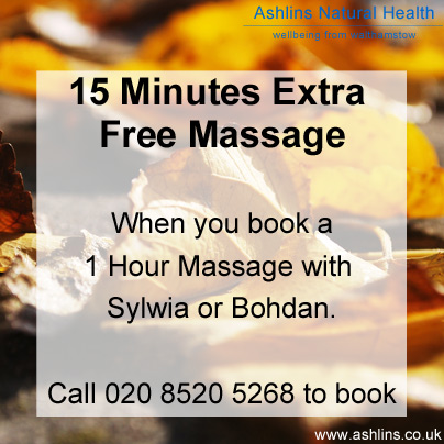 Free massage in E17