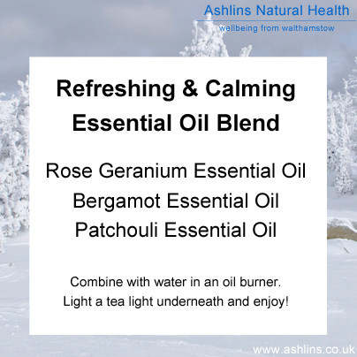 Aromatherapy blend for January
