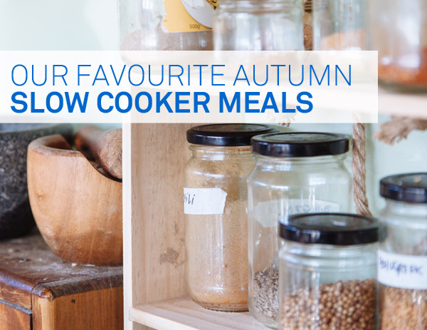 Slow Cooker Meals for Autumn and Winter