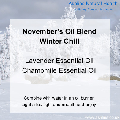 Winter Chill Relaxing Oil Blend