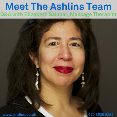 Elizabeth Salazar, Massage Therapist in Walthamstow