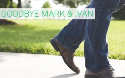 Goodbye Mark Bajer and Ivan Mihov
