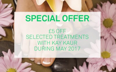 Special Offer – £5 off Selected Treatments