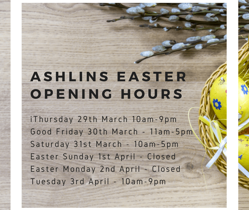Easter Opening Hours 2018