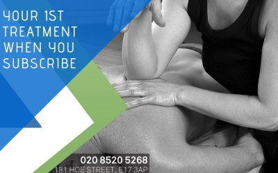 Special Offer – Sign Up and get £10 off your first treatment