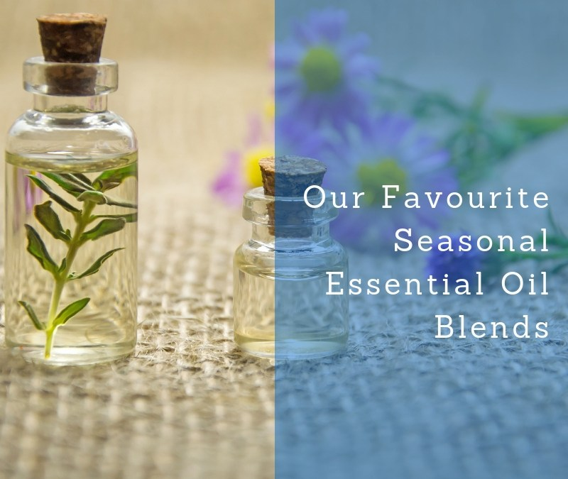 Our favourite Christmas Essential Oil blends available at Ashlins