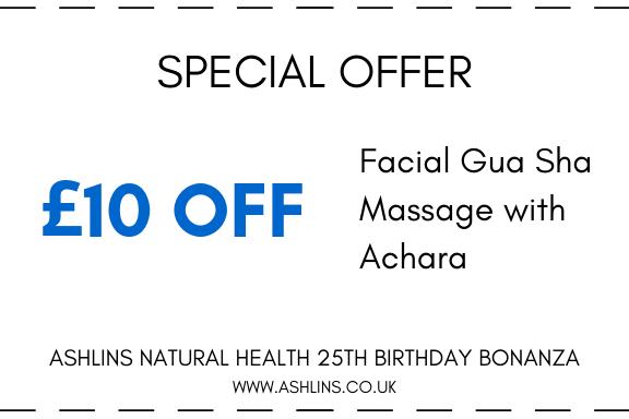 Achara facial massage £10 off