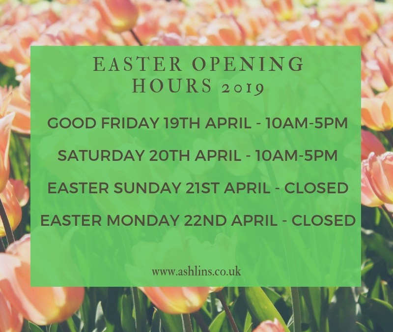 Easter Opening Hours 2019