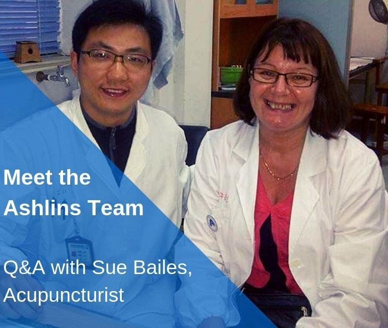 Meet the Team: Q&A with Sue, Acupuncturist