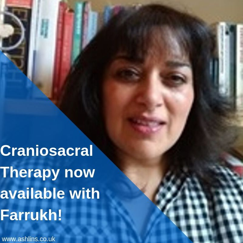 Farrukh Akhtar, Craniosacral therapist at Ashlins E17