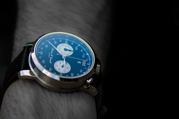 mens time piece photography