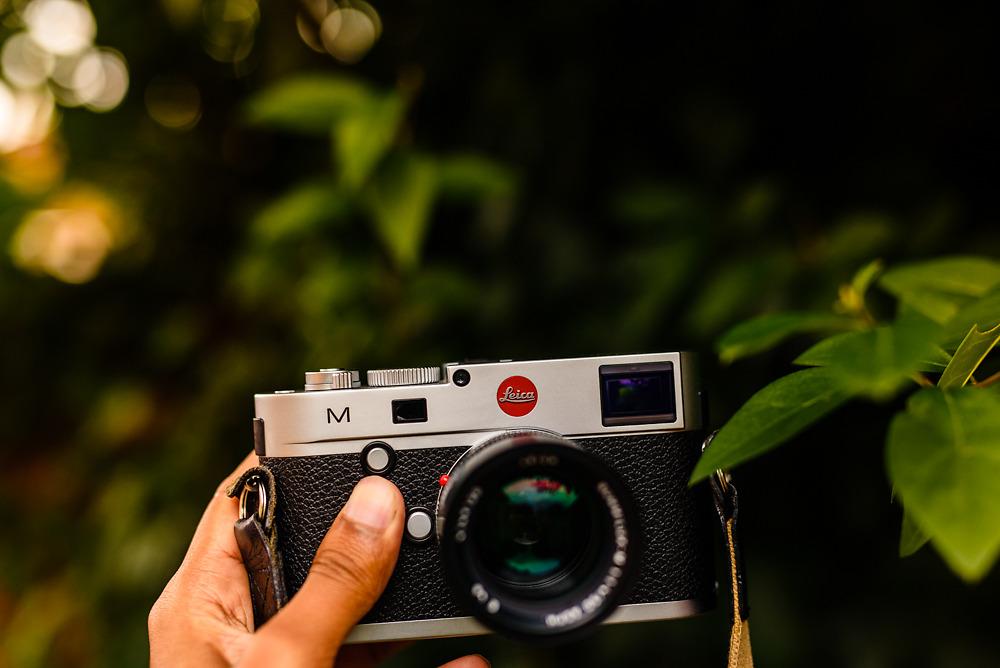 Leicester Leica camera