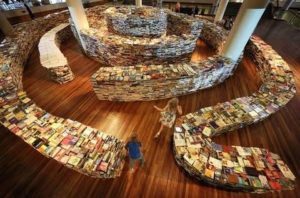 knižný labyrint