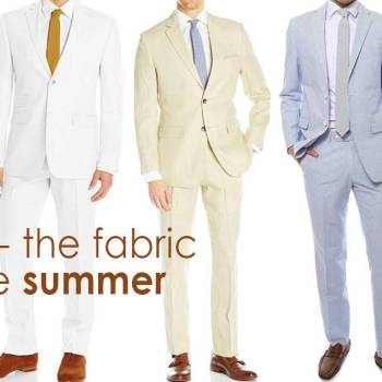 Linen - the fabric for the summer
