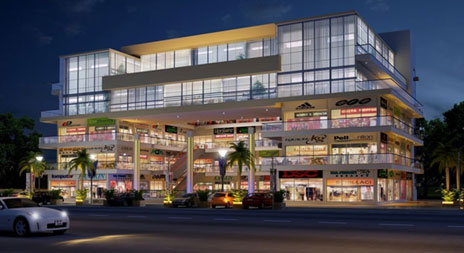 Commercial & Retail Projects of Space Design Group