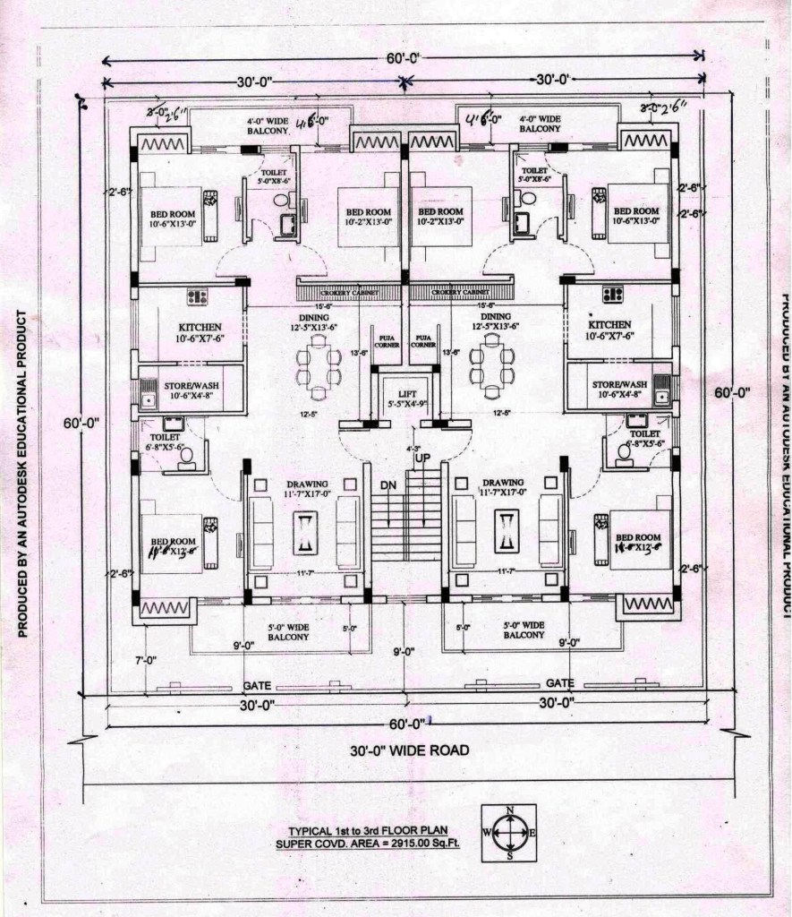 Approved Layout Plan for Ashiana Apartment, Residential Flats and Apartments at Dehradun