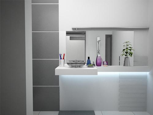 Bathroom Interior Designs - Srikanth's washroom
