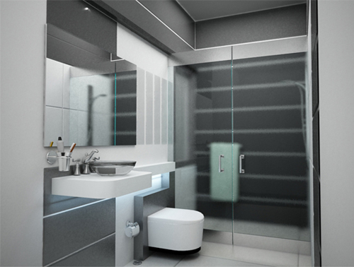 Srinivasan's Master Bathroom Interior Designs
