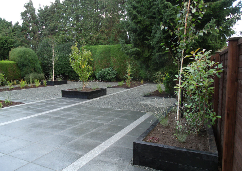 Granite Patio & Landscaped Garden | Ashwood Services on Landscaping And Patios id=45179
