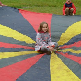 Parachute play.