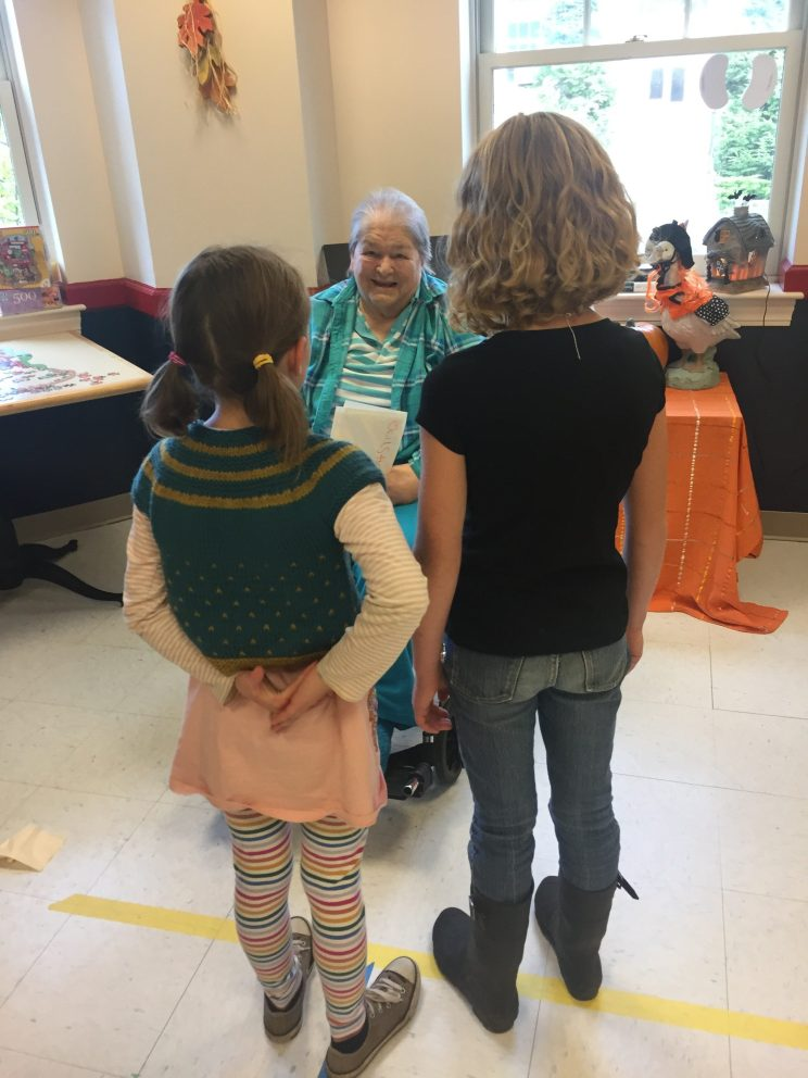 Class 2-3 at the Knox Center for Long Term Care