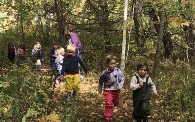 Early Childhood News: Parents Enjoy a Rare In-person Gathering; Children's Mornings Filled with Play