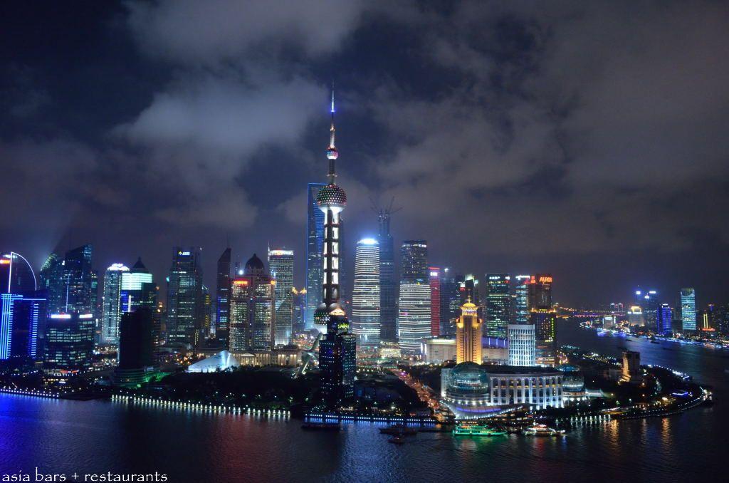 Vue Bar Rooftop At Hyatt On The Bund Shanghai Asia