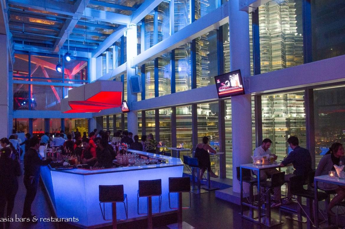 Marini's on 57 – rooftop bar + restaurant + lounge in Kuala Lumpur   Asia Bars & Restaurants