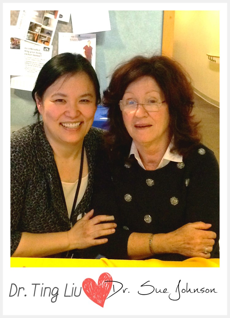 dr ting liu and dr sue johnson phil