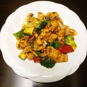 Chicken w. Garlic Sauce - Asia Grill - Chinese Restaurant Peoria IL