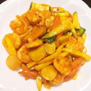 Spicy Mango Prawn 2 - Asia Grill
