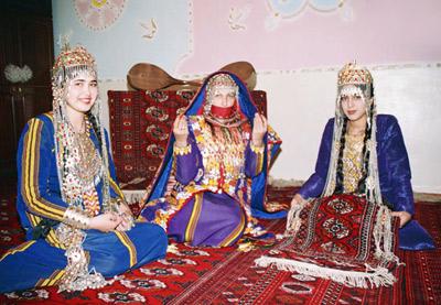Картинки туркмены национальный костюм / picpool.ru