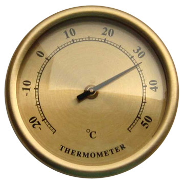 Wall Interior Thermometer
