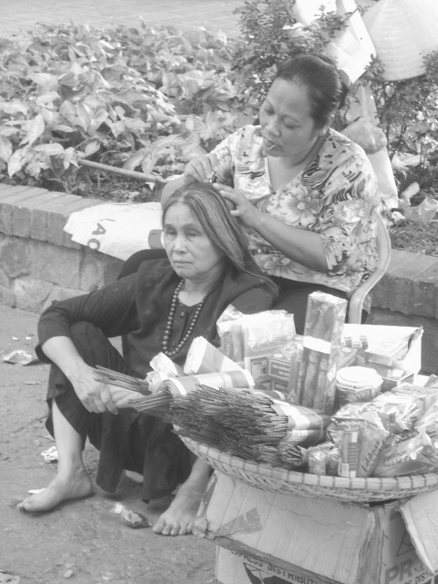 Vietnam donna foto