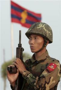Soldato in Birmania
