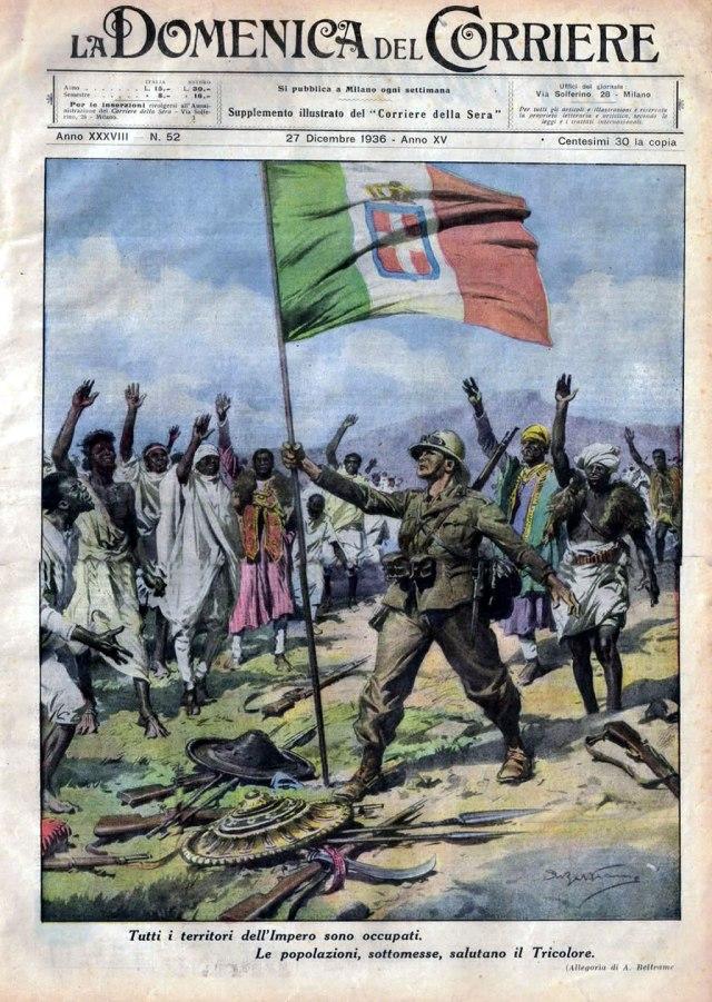 Guerra d'Etiopia Domenica del Corriere